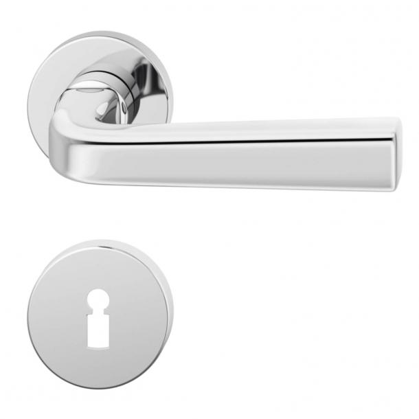 Klamka do drzwi - Stal nierdzewna - Fawed Kazi - Model 1254 - 12 1254 01391 6205