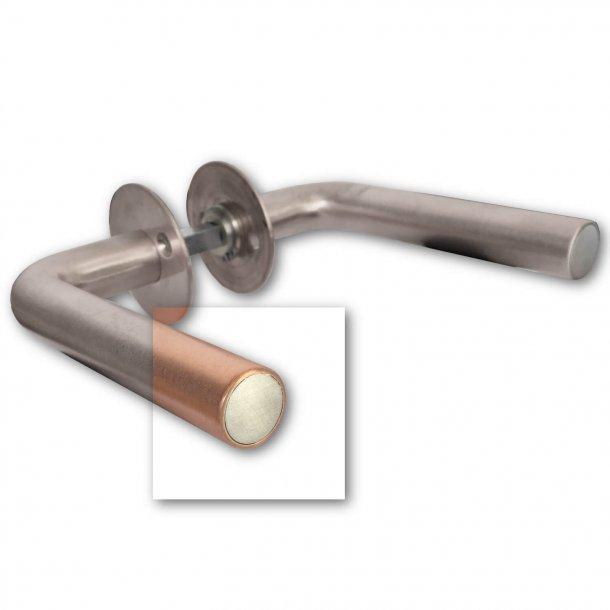 Türgriffe - Gebürstet Kupfer - 19 mm