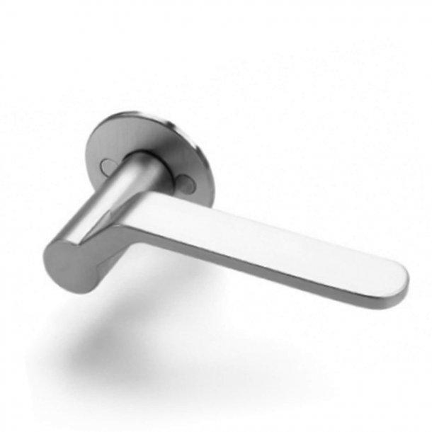 Dørgreb - børstet stål - Henning Larsen