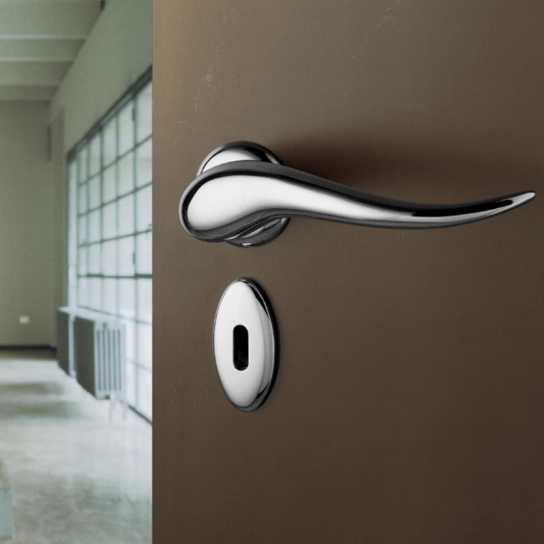 Philippe Starck Door Handle Satin Chrome Model Apriti