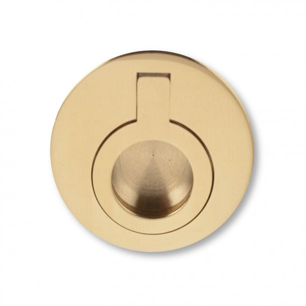 Furniture Handle 580, polish brass, 51 mm