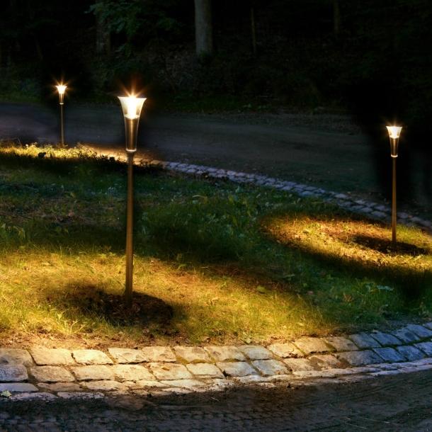 Bedlampe Sanina Stål
