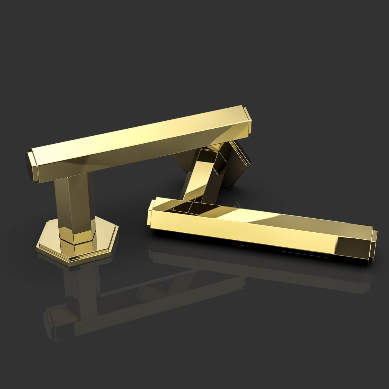 Door handles - Brass - Oliver Knights