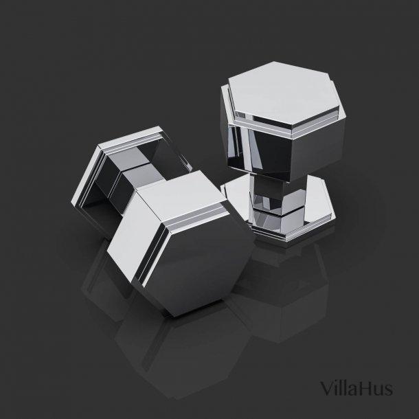 Klamki do drzwi - Chrom - Oliver Knights - model HARRIETTE DK