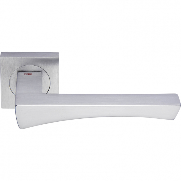 Klamka do drzwi - Matowy chrom - ARCO/50x50-R00G08