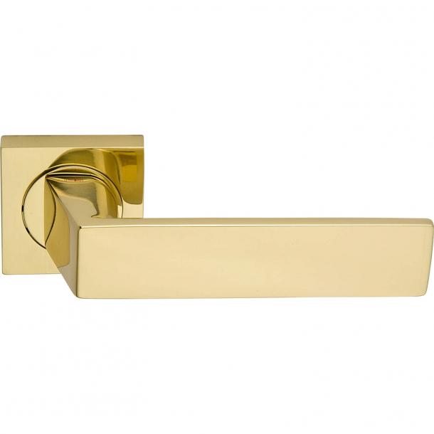 Klamka do drzwi - Mosiądz - KAPPA