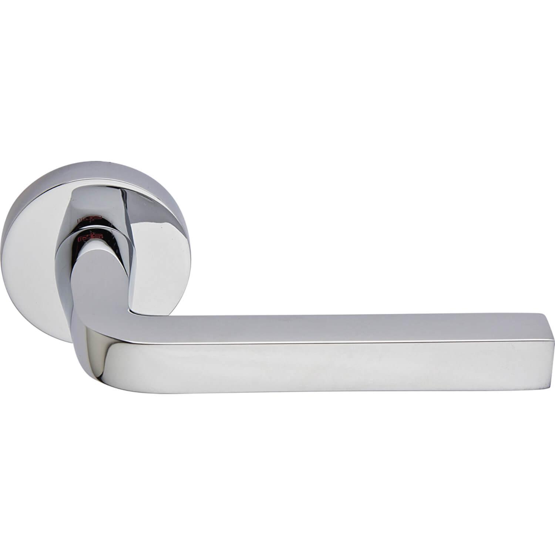 Door Handle Polished Chrome Interior Milano Chrome And Nickel Door Handles