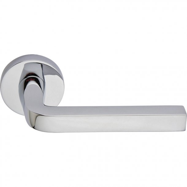 Door handle, Polished Chrome, Interior, MILANO