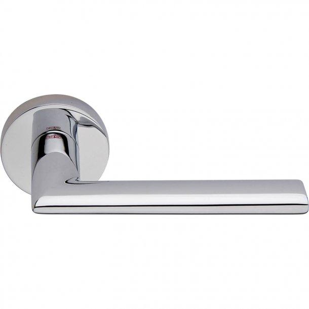 Door handle, Polished Chrome, Interior, VERONA