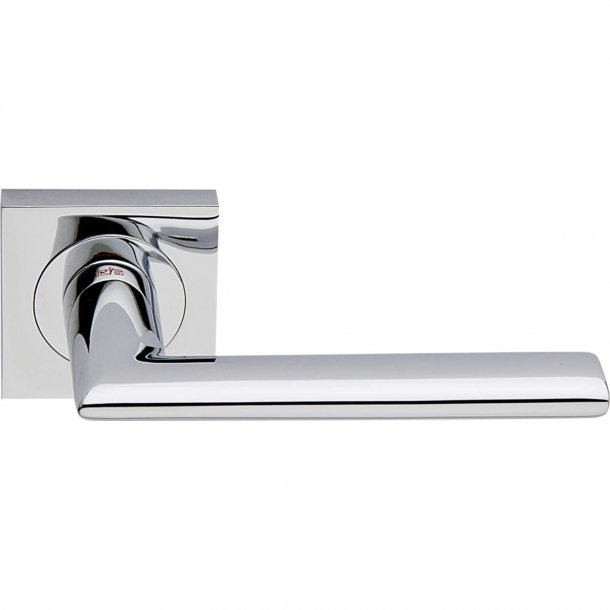 Door handle, Polished Chrome, Interior, VERONA SQUARE