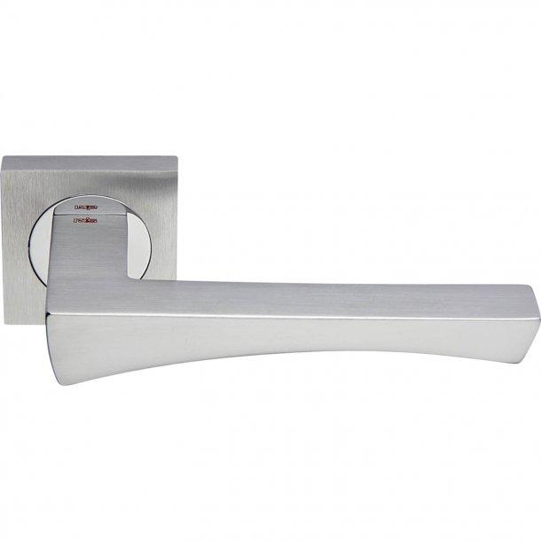 Door handle, Satin chrome / Polished Chrome, Interior, ARCO