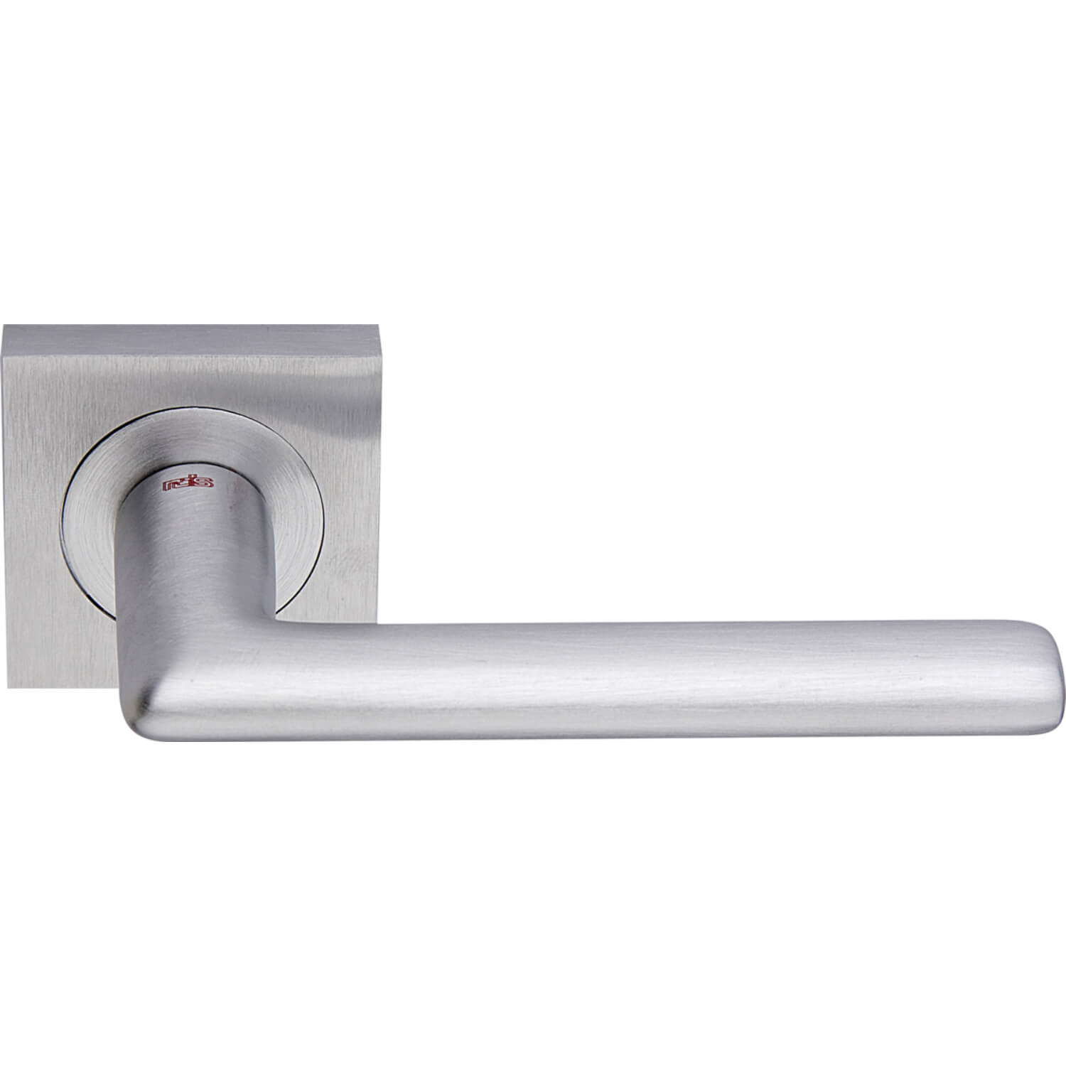 Door Handle, Satin Chrome, Interior, VERONA SQUARE   Chrome And Nickel Door  Handles   VillaHus.co.uk