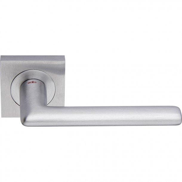 Door handle, Satin Chrome, Interior, VERONA SQUARE