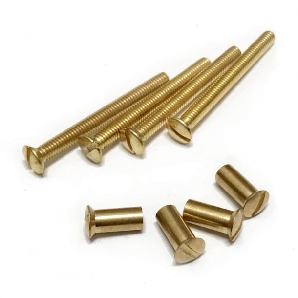 Śruby maszynowe - 4 zestawy - 40 mm - 4005674623780
