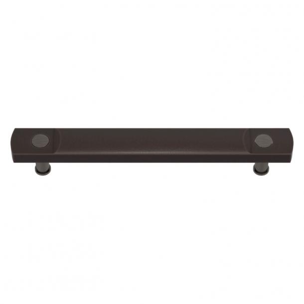 Turnstyle Designs Cabinet handles - Cocoa Amalfine / Vintage nickel - Model E3700