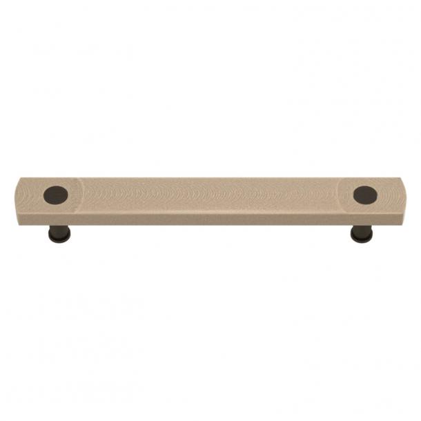 Uchwyt do mebli - Turnstyle Desig - Amalfine w kolorze piaskowy / Patyna - Model E3700