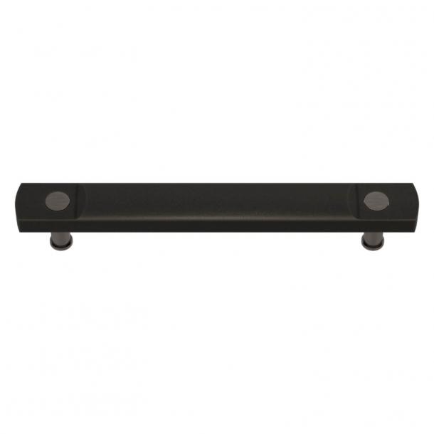 Turnstyle Designs Cabinet handles - Black bronze Amalfine / Vintage nickel - Model E3700
