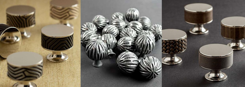 Møbelknopper - Turnstyle Design - Krom, læder og messing - Villahus