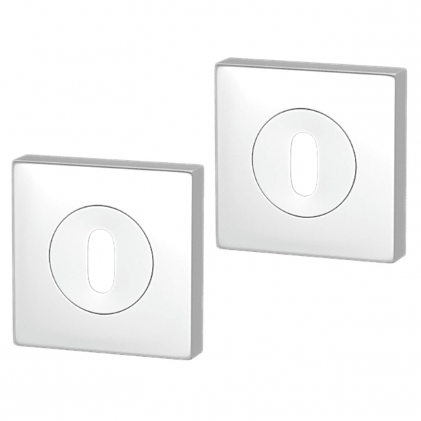 Escutcheon - Chrome - Square - Turnstyle Designs - Model S1672