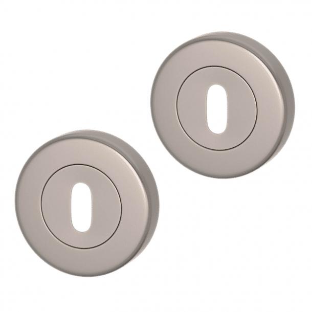 Nyckelring - Matt nickel - Turnstyle Designs Model S1422 - ø52 mm