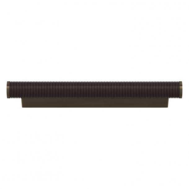 Turnstyle Designs Cabinet handles - Cocoa Amalfine / Antique brass - Model P3170