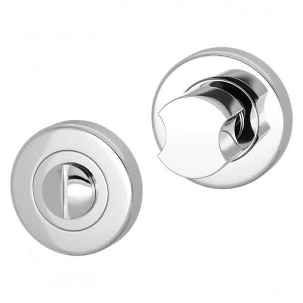 Blokada prywatności do WC - Chrom - Turnstyle Designs - Model S8234