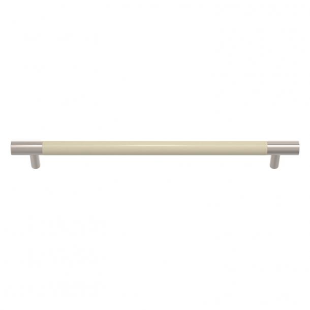 Turnstyle Designs Møbelgreb - Knoglefarvet Amalfine / Poleret nikkel - Model Y3092
