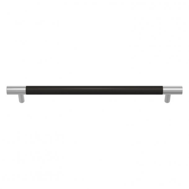 Turnstyle Designs Møbelgreb - Sort bronze Amalfine / Blank krom - Model Y3092