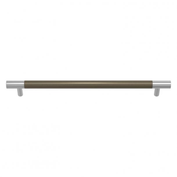 Turnstyle Designs Møbelgreb - Sølv bronze Amalfine / Blank krom - Model Y3092
