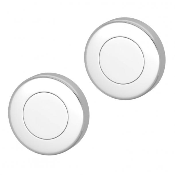 Blind sign - Polished chrome - Turnstyle Designs - Model S1423 - ø52 mm
