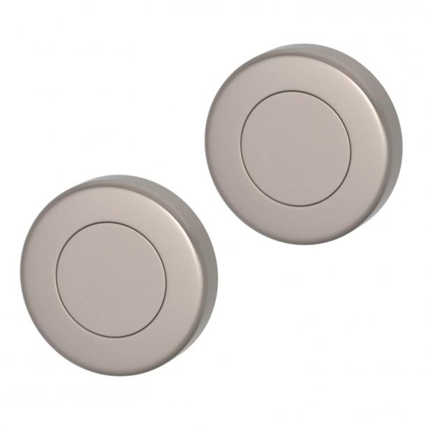 Blindskilt - Mat nikkel - Turnstyle Designs - Model S1423 - ø52 mm