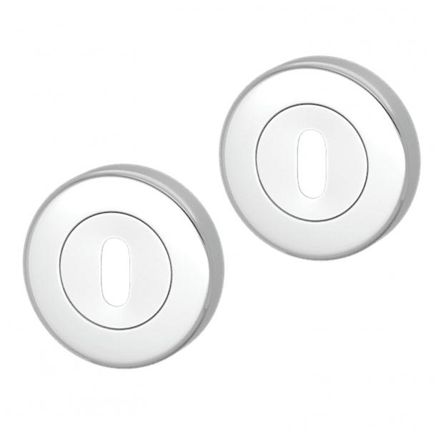 Rozeta pod klucz - Chrom - Turnstyle Designs - S1422 - ø52 mm