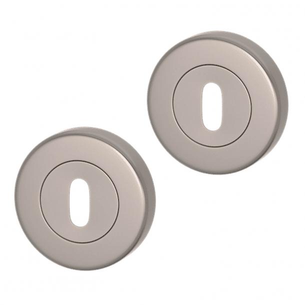 Rozeta pod klucz - Nikiel satynowy - Turnstyle Designs - S1422  - ø52 mm