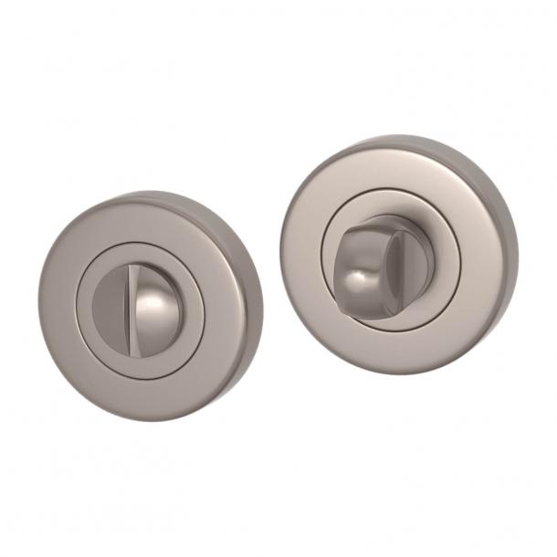 Blokada prywatności - Nikiel satynowy - Turnstyle Designs Model S1041 - ø52 mm