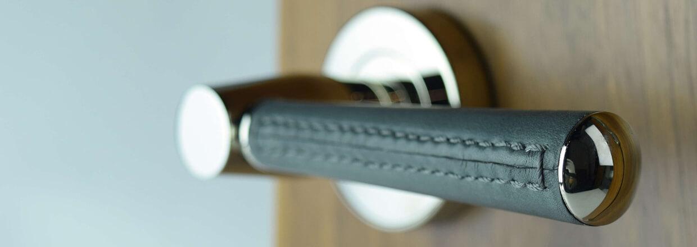 Dørgreb - Læder - Krom - Nikkel - Messing - Turnstyle Sesign