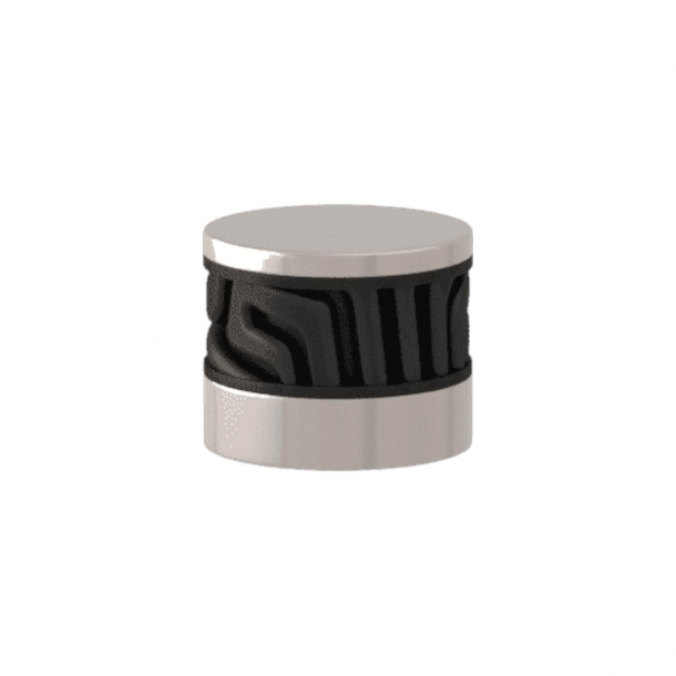 Uchwyt - Turnstyle Designs - Czarny brąz Amalfine / Polerowany nikiel - Model B8108