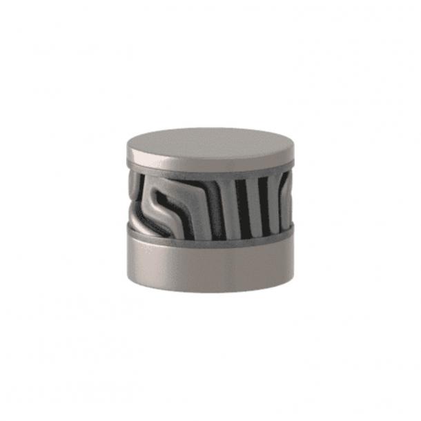 Turnstyle Designs Cabinet knob - Alupewt Amalfine / Satin nickel - Model B8108