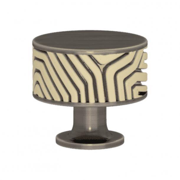 Uchwyt - Turnstyle Designs - Amalfina w kolorze piasku / Nikiel postarzany - Model B9322