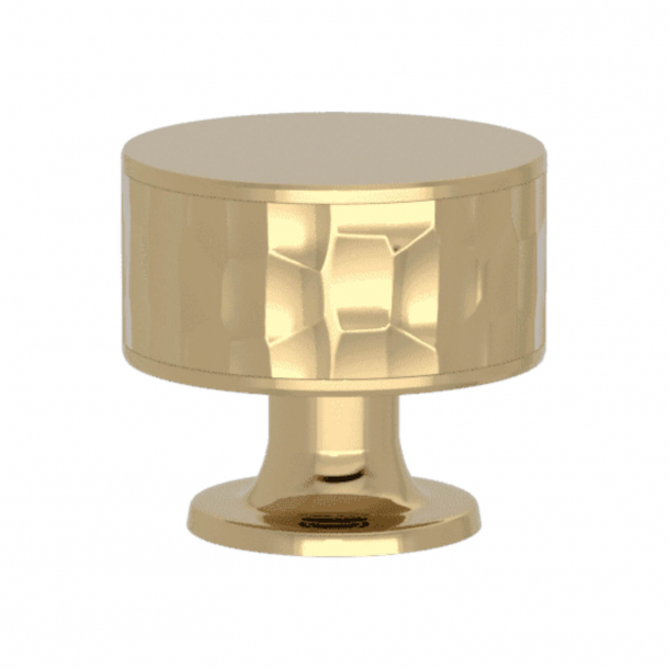 Turnstyle Designs Cabinet knob - Polished brass - Model HS2090