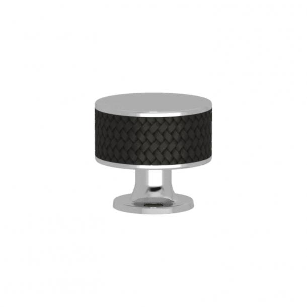 Uchwyt - Turnstyle Designs - Czarny brąz Amalfine / Błyszczący chrom - Model P5011