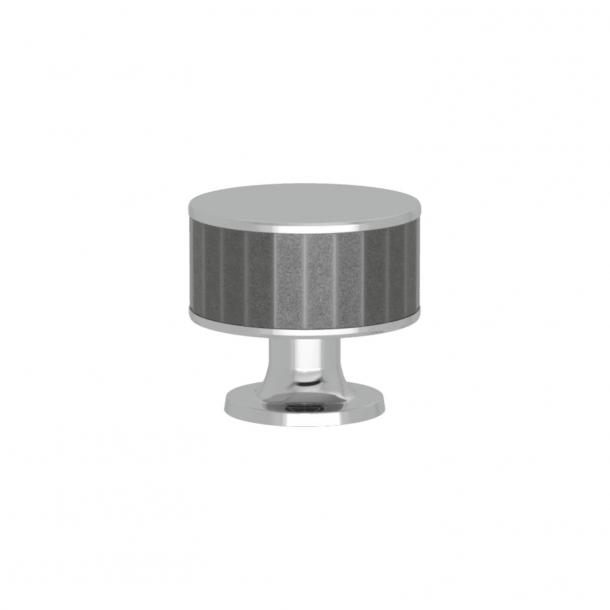 Uchwyt - Turnstyle Designs - Alupewt Amalfine / Błyszczący chrom - Model P5050
