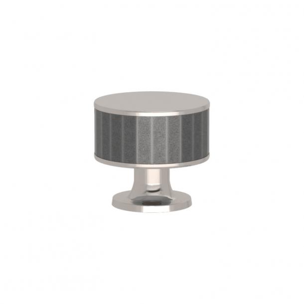 Uchwyt - Turnstyle Designs - Alupewt Amalfine / Polerowany nikiel - Model P5050