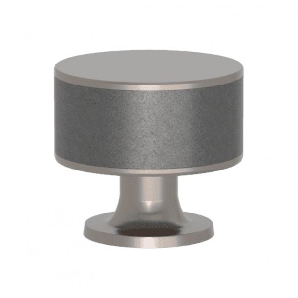 Turnstyle designs Møbelknop - Alupewt Amalfine / Satin nikkel - Model P5065