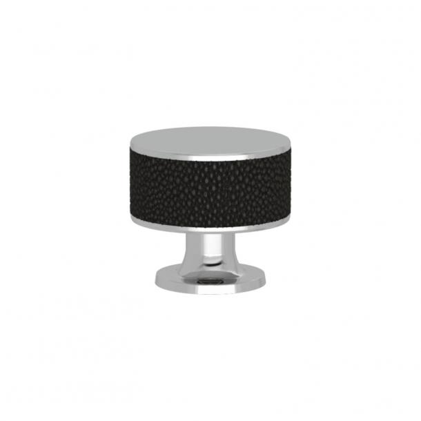 Uchwyt - Turnstyle Designs - Czarny brąz Amalfine / Błyszczący chrom - Model P5098