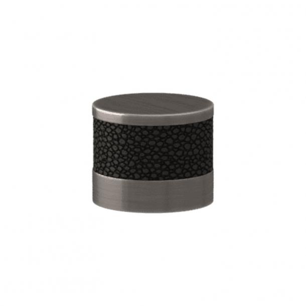 Turnstyle Designs Cabinet knob - Black bronze Amalfine / Vintage nickel - Model P8722