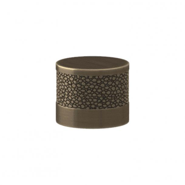 Turnstyle Designs Møbelknop - Sølv bronze Amalfine / Antik messing - Model P8722