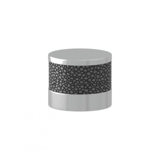 Turnstyle Designs Möbelknopp - Alupewt Amalfine / Glansigt krom - Model P8722