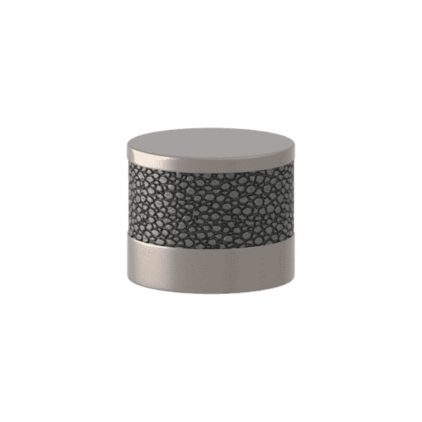 Turnstyle Designs Cabinet knob - Alupewt Amalfine / Satin nickel - Model P8722