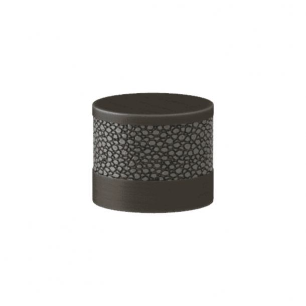 Turnstyle Designs Cabinet knob - Alupewt Amalfine / Vintage patina - Model P8722