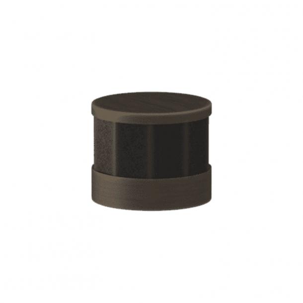 Uchwyt - Turnstyle Designs - Czarny brąz Amalfine / Patyna - Model P8742